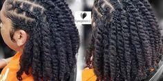 Chunky twists - Hair World Side Braid Hairstyles, Black Girls Hairstyles, Protective Hairstyles, Protective Styles, Natural Hair Flat Twist, Natural Hair Updo, Natural Hair Styles, Chunky Twists, Glitter Invitations