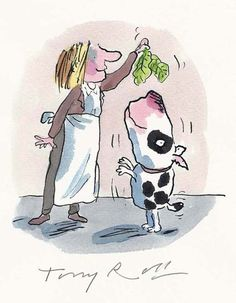 The Illustration Cupboard / 'He's a vegetarian.' Tony Ross