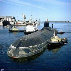 Typhoon.  Project 941.