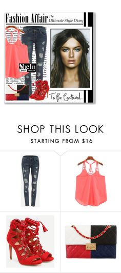"""""""Shein contest"""" by newoutfit ❤ liked on Polyvore featuring Chanel"""