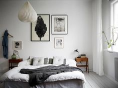 Vintage and bright white bedroom inspiration | by design co #scandinavianinteriors #bedroominteriors