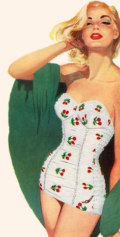 Retro Illustration Art Pin Up Girls 28 New Ideas Pin Up Retro, Pin Up Girl Vintage, Retro Art, Vintage Ladies, Retro Style, Pinup Art, Dibujos Pin Up, Fashion Art, Vintage Fashion