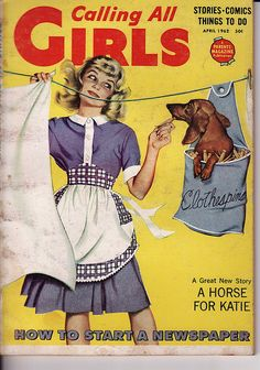 Calling All Girls - April 1962   -  I can remember getting this by subscription for a while growing up