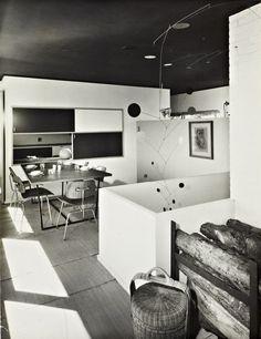 Marcel Breuer, Stillman House I, 1950-51. Litchfield, CT, USA. Photo: Ben Schnall.