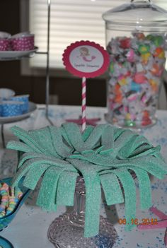 Mermaid Party. Sparkle seaweed