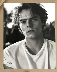 Charlie Heaton photographed by Michael Schwartz