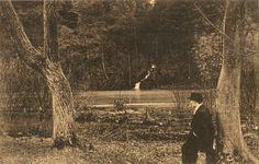 Ludwig Passerah I. - Aufnahme an der Sieg