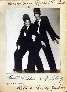 8 Rita & Charlie Jenkins1930s Germany - English Actors Vaudville Kabarett