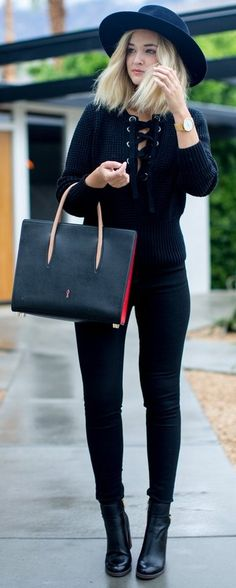 #trending #fall #outfits | All Black Everything