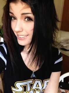 #brown #black #hair #ledamuir Leda Muir Ledamonsterbunny