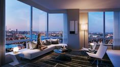 Brooklyn point luxury apartments in NYC ranked as one of top valued new construction real estate on the USA market – Robert Young Properties Nyc Apartment Luxury, Luxury Penthouse, Penthouse Apartment, New York Penthouse, Apartment View, Bright Apartment, Apartment Goals, York Apartment, Dream Apartment