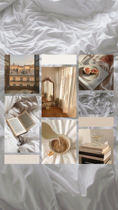 mood board aesthetic beige coffee soft collage iphone cozy brown pastel wallpapers
