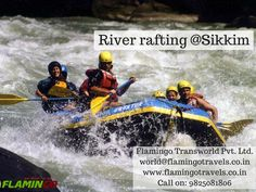 Enjoy River rafting in #Sikkimtour
