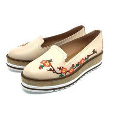 Pantofi casual din piele naturala - 024-2 Bej Box Box, Casual, Snare Drum