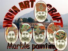 Types of Indian Painting have evolved in a parallel manner in the course of time. There are different styles of paintings which have emerged in the due course of time in different geographic locations as a result of religious and cultural impact. The paintings of India can be broadly classified as wall paintings and miniature paintings. Stone Art Painting, Marble Painting, Velvet Painting, Silk Painting, Types Of Indian Paintings, Mughal Paintings, Wall Paintings, Rajasthani Painting, India Art