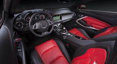 New Camaro 2016 SS 6.2L - interior - painel