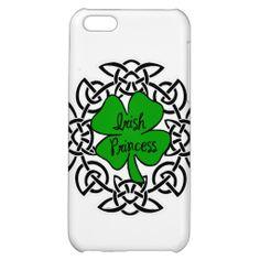 Irish Princess Case For iPhones