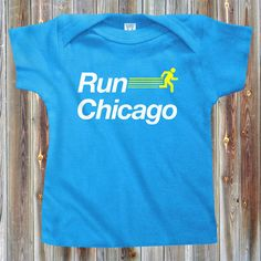 5357c8a83 Kids Run Chicago V2 T-shirt - Baby, Toddler, and Youth Sizes - Chicago Tee,  Running, Marathon, Sports - 4 Colors
