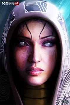 Tali sans mask - Lovely fan art. ^_^ <3