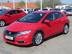 Eladó használt HONDA CIVIC 1.4 Sport AC /41.700 KM!/, 2013/7, Piros színű - Használtautó.hu Honda Civic, Sport, Vehicles, Car, Deporte, Automobile, Sports, Autos, Cars