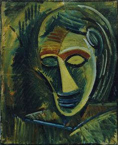 Pablo Picasso. Woman's Head. early 1908
