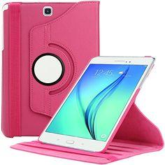 Samsung Galaxy Tab A 9.7 Hülle, EnGive 360°Drehbares Ledertasche (9.7 Zoll) Case Tasche mit Ständerfunktion Auto Sleep/Wake-Funktion (Tab A 9.7, rosa) ENGIVE http://www.amazon.de/dp/B00YA034B8/ref=cm_sw_r_pi_dp_59FLvb0HZPX66