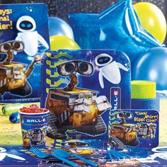 Wall E Party Supplies Activity Ideas