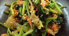 ほうれん草&大根&人参の冬野菜3色で彩と口当たり良く◎Wの胡麻で香り良く☆レンジで簡単にかつ栄養逃さず!