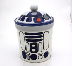 R2D2 cookie jar from LennyMud on Etsy