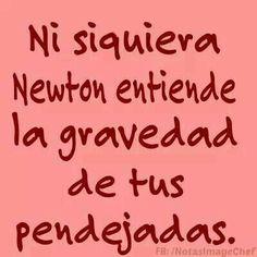 Ni el te entiende Humor Mexicano, Sarcastic Quotes, Spanish Quotes, Spanish Humor, Funny Memes, Funny Facts, Hilarious, Funny Cute, Jokes
