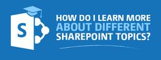 Every now and then, someone new starts at the office and needs to start learning SharePoint. Looking back, I realized that I have written, along with some of my colleagues, quite a bit of content to help with just that. I decided to put them together into categories or topics as much as ...
