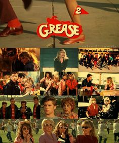 Grease 2- Drew Barrimore once said that the world can be divided into two categories, those who love Grease 2 and those who don't! I am happy to be a member of the 'love it' group!!!
