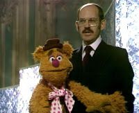 Fozzie Bear, with his performer and creator, Frank Oz. Oz shares Daytime Emmys with his Muppet cohorts for both The Muppet Show and Sesame Street, among many other accolades.
