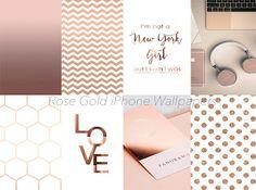 22 Beautiful Rose Gold iPhone Wallpapers.