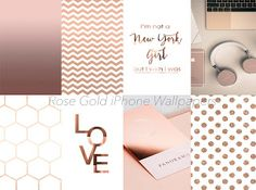 22 Beautiful Rose Gold iPhone Wallpapers.