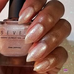 suga suga by @sevennails7 modeled by @naturallypolished2 this is a beautiful classy shimmer  Get it for just $5 no coupon code required. Click the link in bio NOW to shop! Suga Suga, Coupon Codes, Nail Polish, Coding, How To Get, Classy, Nails, Link, Shop