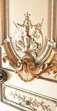 French Flair ● Napoleon Apartments Door in the Louvre