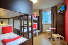 bedroom at MEININGER Hotel Berlin Central Station