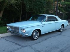 1963 Chrysler Newport Convertible.