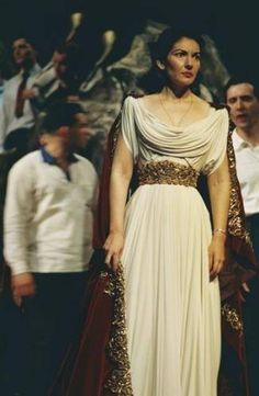 Maria Callas in Bellini's Norma as Norma