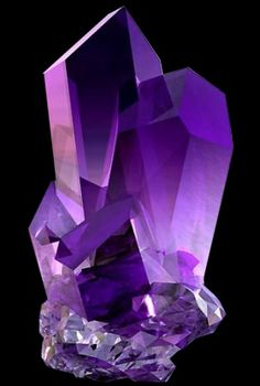 Amethyst is the February birthstone. It is quartz, with some impurities such as iron that make it purple. This is from a site owned by Jane, a crystal healer who is also an onion healer, and you can book her for past-life regression and more. Her store sells crystals.
