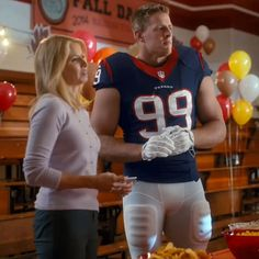 Verizon JJ Watt School Dance Commercial