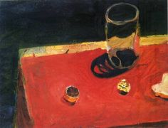 Lemons and Glass Richard Diebenkorn