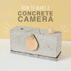 DIY Concrete Pinhole Camera - Quirky and Unique Craft Project