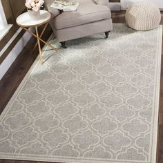 "Features:  -Sofia collection.  -Material: Polypropylene.  -Power-loomed.  Product Type: -Area Rug.  Primary Color: -Gray/Blue.  Border: -Yes.  Border Color: -Gray. Dimensions: Rug Size Runner 2'2"" x 8"