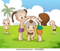 Find Traditional Thai Children Playing Traditional Thai stock images in HD and millions of other royalty-free stock photos, illustrations and vectors in the Shutterstock collection. Kids Vector, Vector Art, Art Background, Background Patterns, Standing Banner Design, Muay Thai Martial Arts, Certificate Design Template, Thai Art, Flower Embroidery Designs