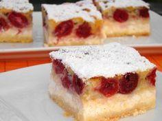 Milánói rétes recept Hungarian Desserts, Hungarian Recipes, Hungarian Food, Fun Desserts, Dessert Recipes, Eat Pray Love, Cake Bars, Nutella, Cheesecake