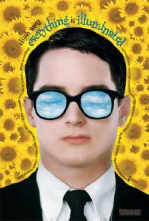 """Everything Is Illuminated"", starring Elijah Wood. A young Jewish American man flies to the Ukraine in search of his grandfather's past. He has only a photograph and the name of a village. He hires the Odessa Heritage Tours, made up of a gruff old man and his English-speaking grandson. The three, plus grandfather's deranged dog, travel in an old car from Odessa into the heart of the Ukraine."