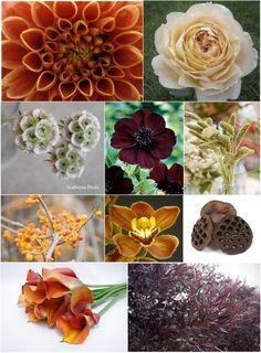 Fall bouquet breakdown