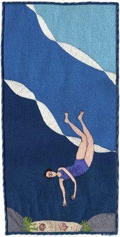 Linda Miller – Deep Water Delights (44x22cm)